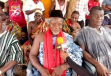 Produce proof NDC took bribe or I ban NPP in my town - Chief tells NPP Chairman