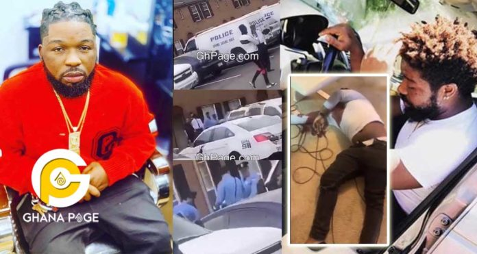 A footage of when the police came for Junior US' dead body drew tears from friends [Watch]