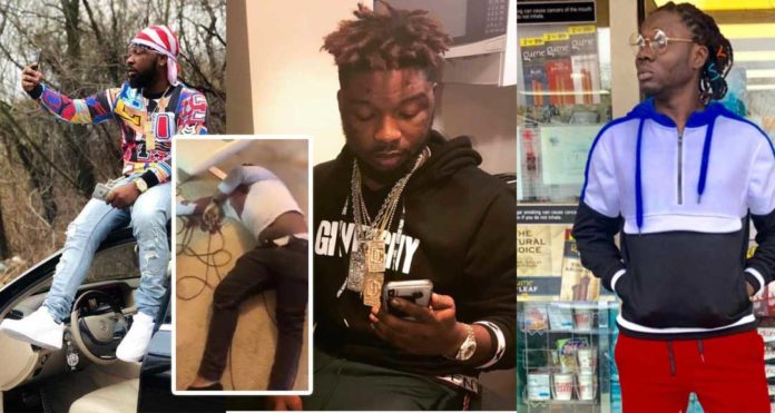 Video of Shatta Wale's bro, Junior US after he was shot dead at his house pops up [Watch]