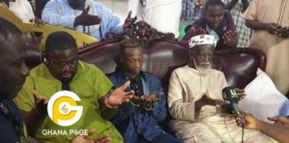 K.K Fosu visits Chief Imam for prayers to get a hit song