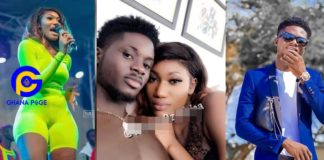 Photo of Kuami Eugene Nekked in bed with Wendy Shay pops up on social media [SEE]