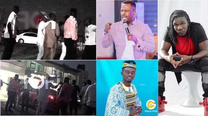 Zack Gh,Boss nation men storm Nigel Gaisie's church
