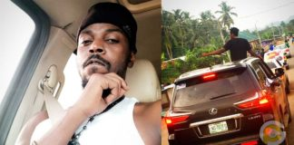 Social media users troll Kwaw Kese over his photo caption