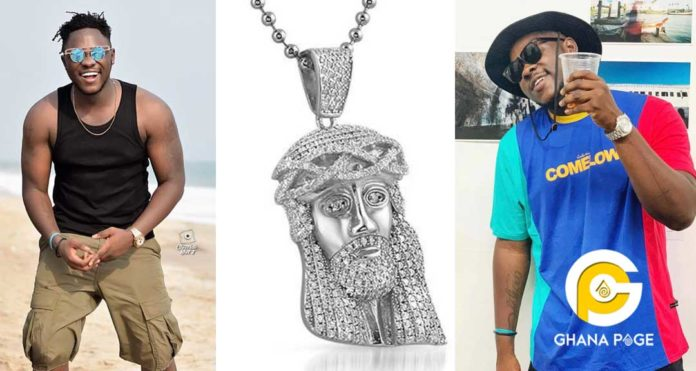 Medikal missing Jesus chain 1 696x371 - We won't return your chain – Alleged thieves tell Medikal