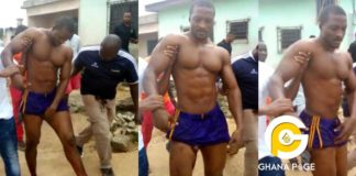 Video:NDC Hawk member who survived gunshot at Party HQ in Kumasi stabs rival who shot him