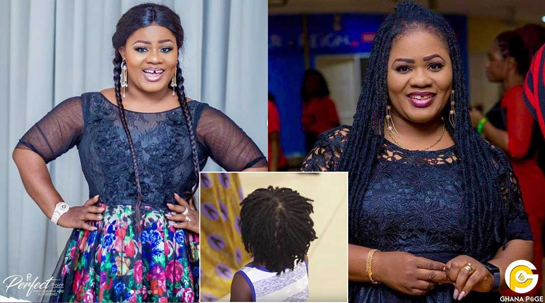 Obaapa Christy details why her last son has dreadlocks