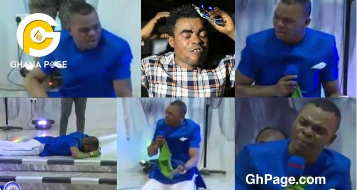 Video: Obinim weeps uncontrollably over One Blow for betraying in his interview with Kofi Adoma