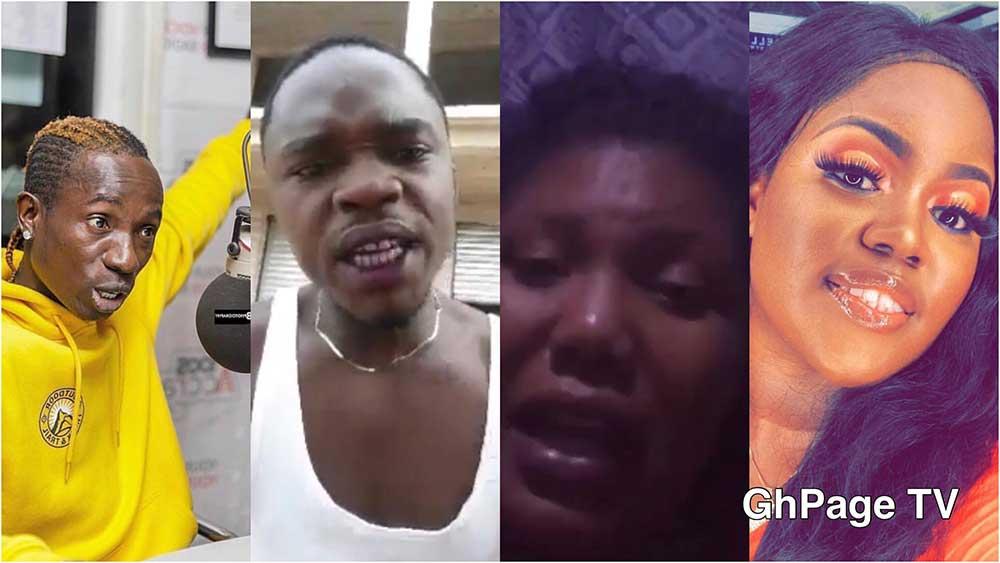 Ghanaians blast Patapaa for dumping Queen Peezy