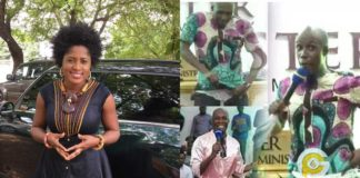 Patience Nyarko descends on Prophet Kofi Oduro for pant demonstration