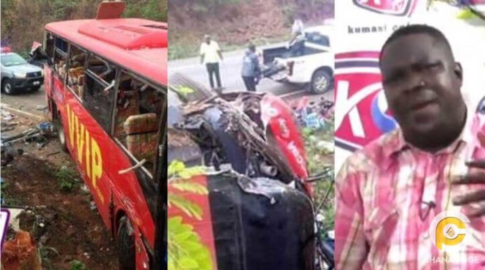 Kintampo accident was caused by two pastors - Prophet Kwadwo Agyapong