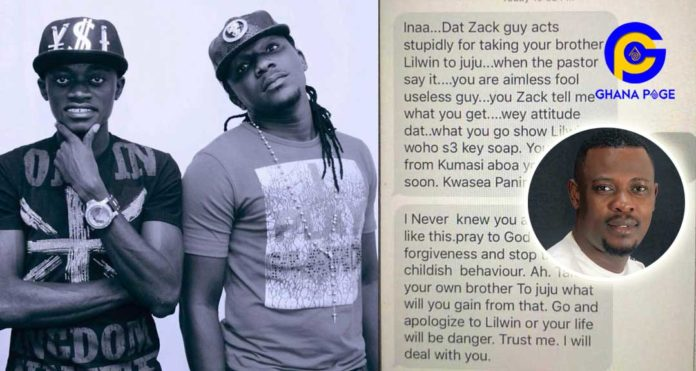 Lilwin's fmr manager Zack receives death threat messages from Lilwin's fans after Nigel's prophecy