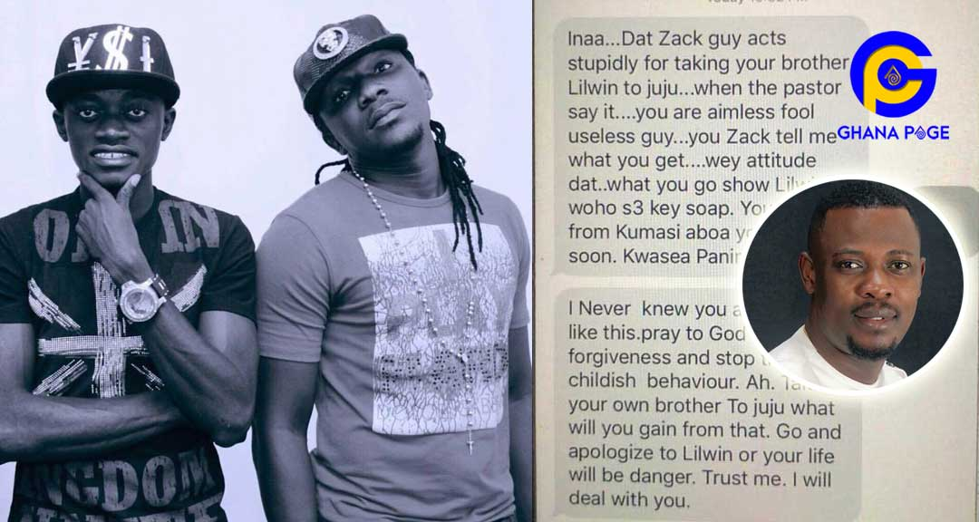 Lilwin's fmr manager receives death threats after Nigel's padlock prophecy