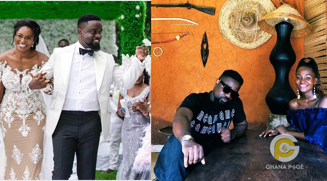Sarkodie spotted without his wedding ring sparks rumours