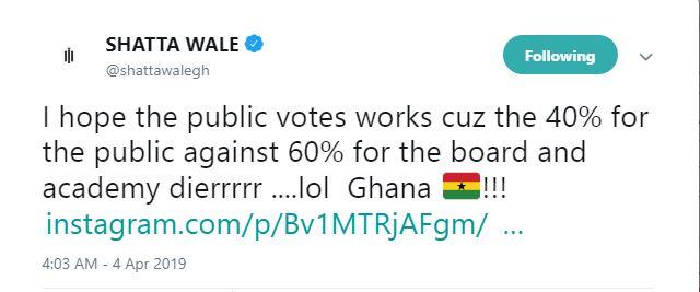 40% public votes against 60% board votes in VGMA is unfair