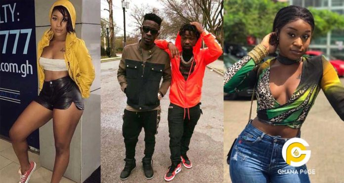 Efia Odo goes off Instagram after she got busted for bonking Shatta Wale and Junior US in 3some