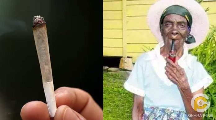 Smoking is the key to long life and happiness - 95 year old woman