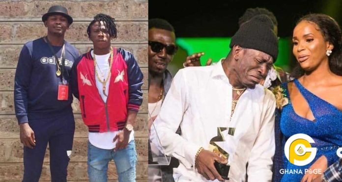 Stonebwoy's manager attacks 3 Music Awards after they compensated Shatta Wale with 8 Awards
