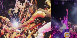Stonebwoy blasted for sharing Kpoo Keke on stage during performance