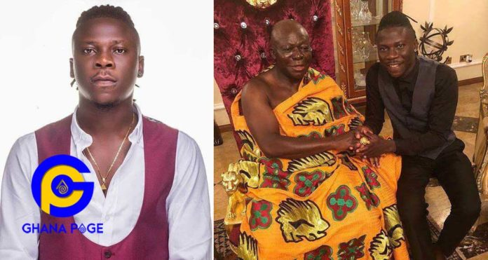 Stonebwoy to headline Otumfour Osei Tutu II's 20th-anniversary concert on 26th April in Kumasi