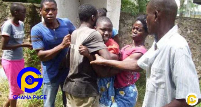 3 final year male students of Bibiani Sec-Tec held down 1st year student as another boy anally raped her