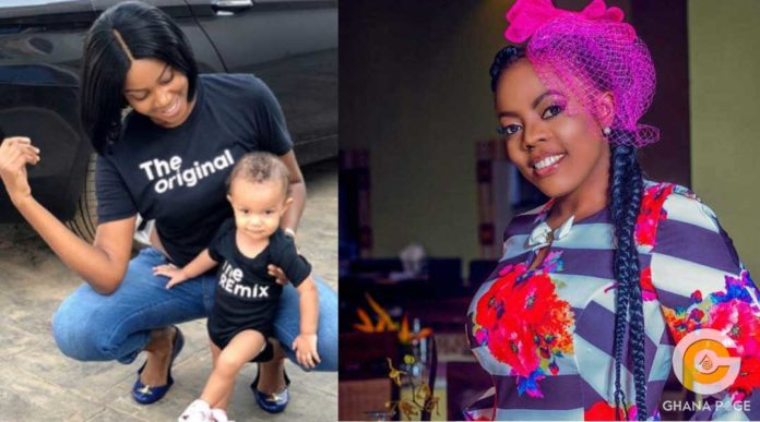 Yvonne Nelson deletes all photos of her daughter on social media