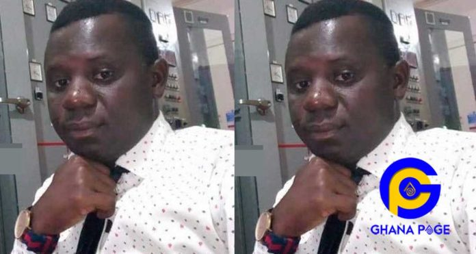 Maclean Amoah, a GRIDCO worker shot by the police after they assumed he was an armed robber