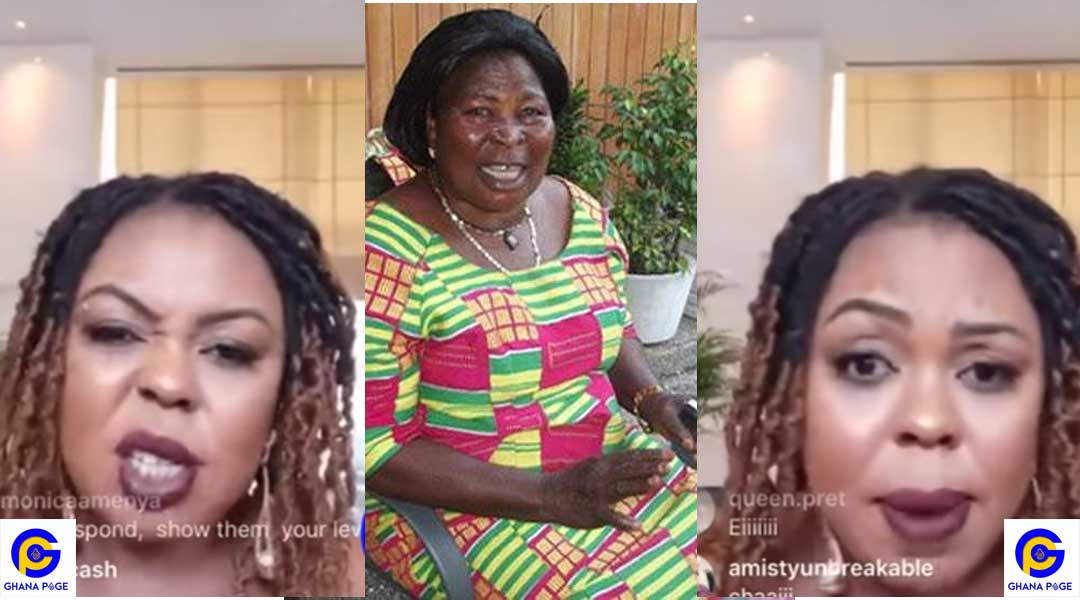 AFIA SCHWAR AKUA DONKOR INSULT - Afia Schwarzenegger replies Akua Donkor; rains insult on her