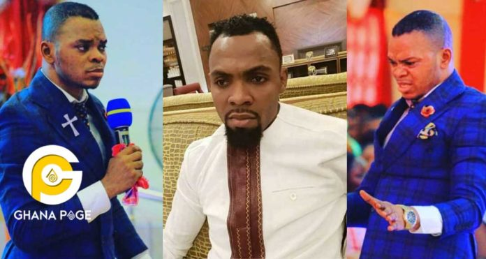 Obofour shares cars because does not suffer to get his money-Obinim throws fresh jabs [Video]