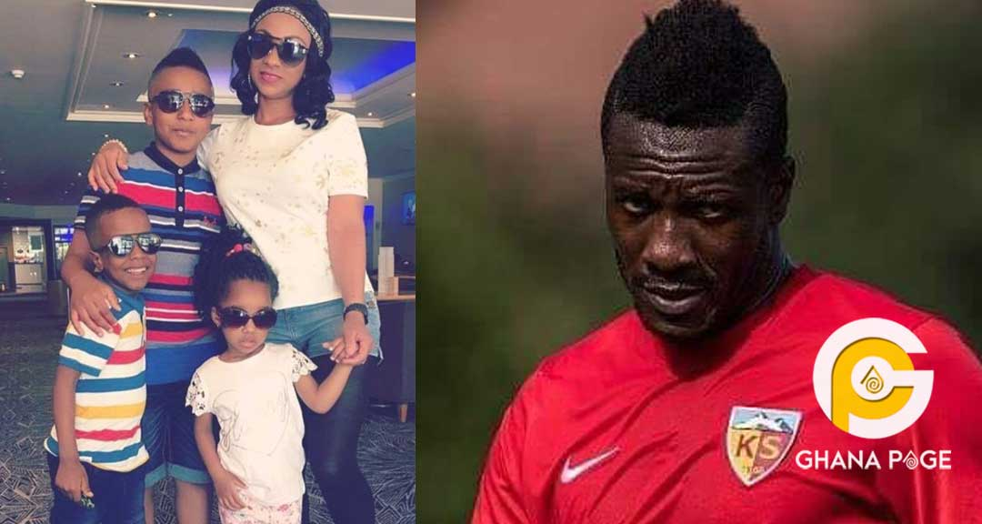 Court orders Asamoah Gyan to pay estranged wife GH¢204,392