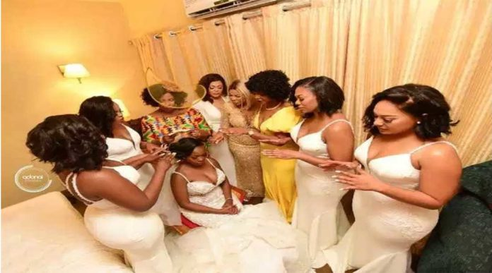 DUMLOO GIFT Y 8 696x387 - Photos you missed from John Dumelo & Gifty's white wedding