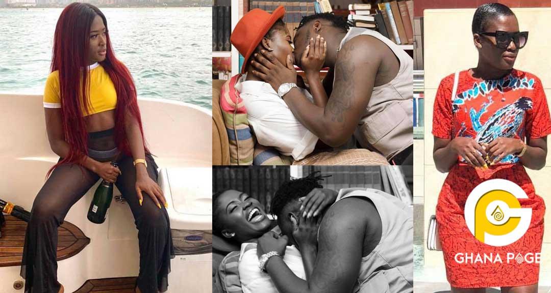 Fella Makafui Medikal 3 - Real name of Fella Makafui revealed by SHS mates