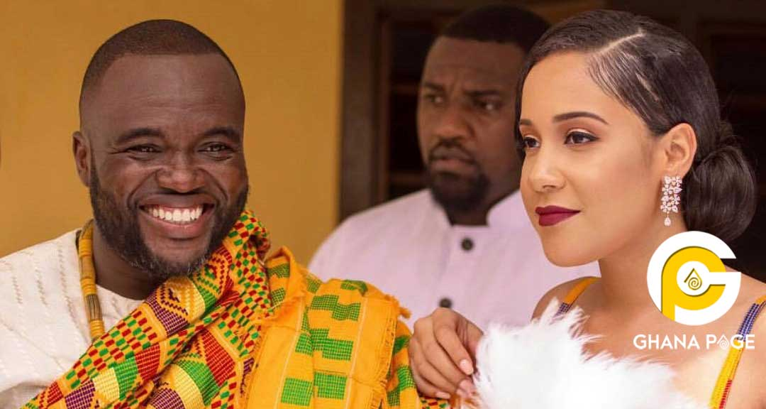 Fred Nuamah wife 2 - Fred Nuamah's One-year-old marriage collapses