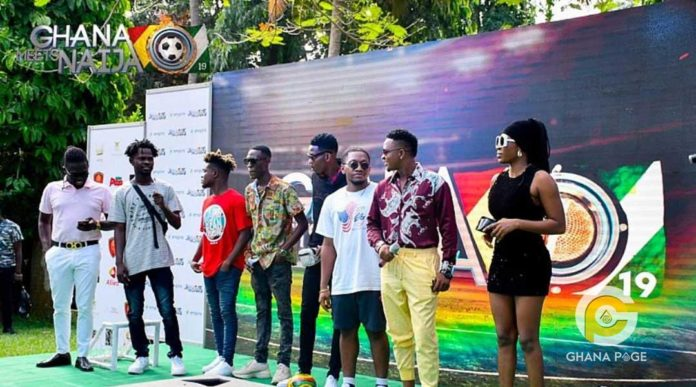 Ghana Meets Naija 696x387 - Patapaa, Medikal, others to face Wande Coal, Teni Makanaki from Nigeria for Ghana meets Naija