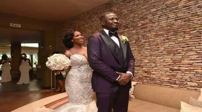 JOHN DUMELO NEW 3 696x387 - Photos you missed from John Dumelo & Gifty's white wedding