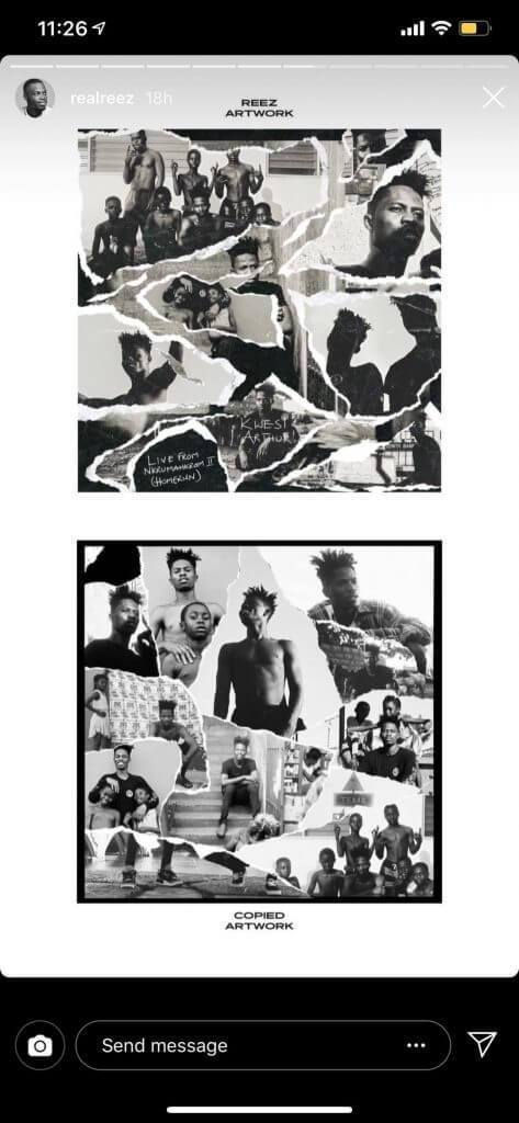 Kwesi Arthur3 - Graphic designer accuses Kwesi Arthur of stealing his artwork