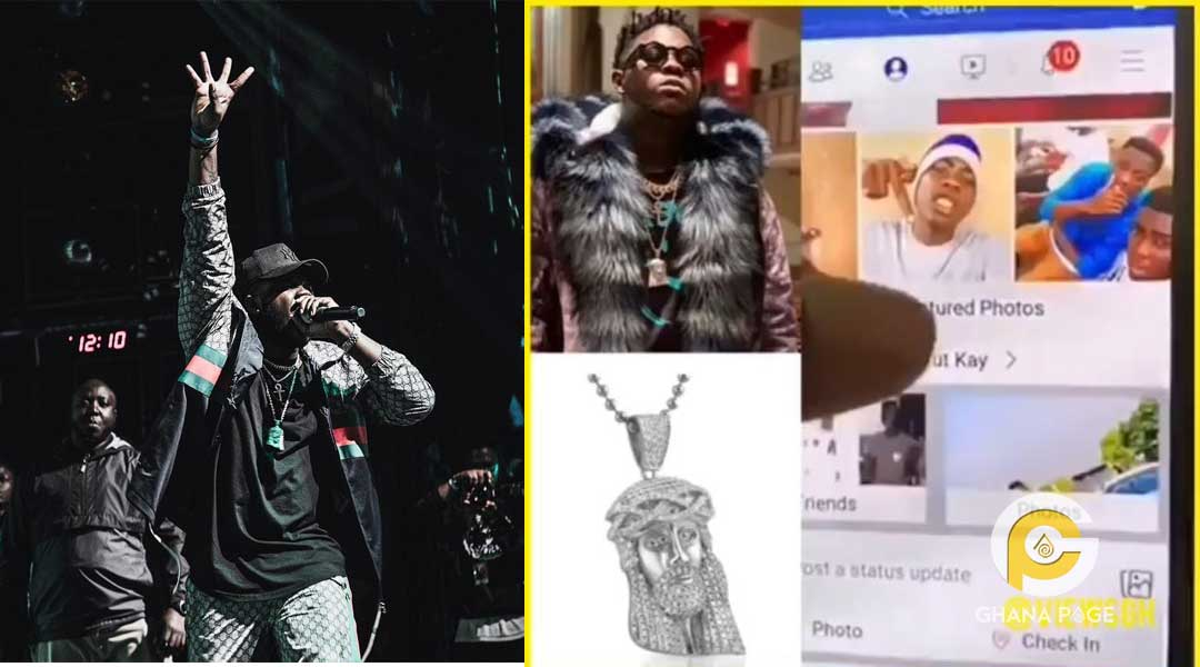 "Medikal Chain boy - Medikal tracks down the thief who stole his ""Jesus"" chain"