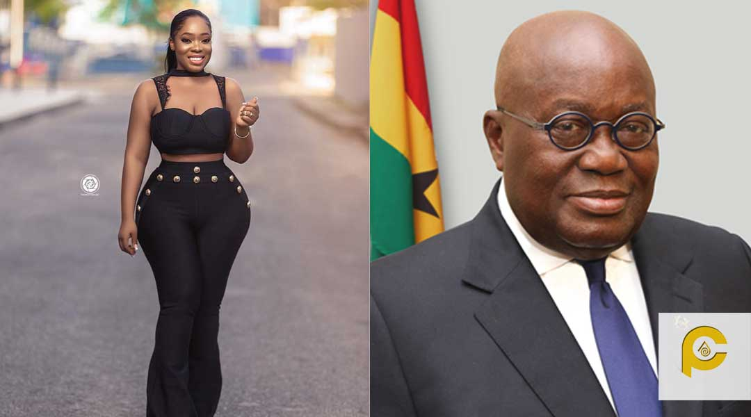 Nana Moesha - Moesha Boduong quizzes Mr. President about his ten car convoy
