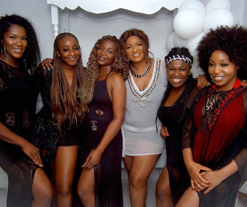 Stephanie Okereke, Ini Edo, Genevieve Nnaji, Omotola, Uche Jumbo, Rita dominic