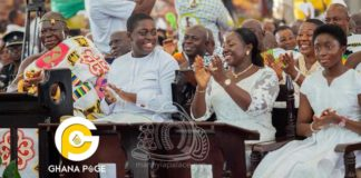 Photos: Meet Nana Afia Kobi Ampem and Nana Kwame Kyeretwie, the two children of Otumfour Osei Tutu II