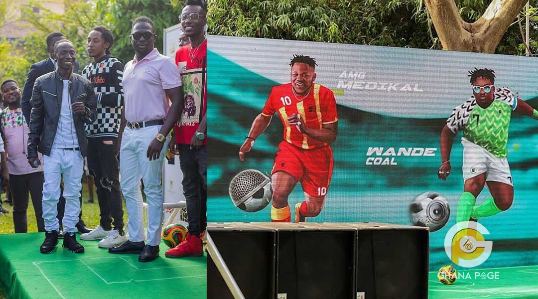 Patapaa Medikal Wande Coal - Patapaa, Medikal, others to face Wande Coal, Teni Makanaki from Nigeria for Ghana meets Naija