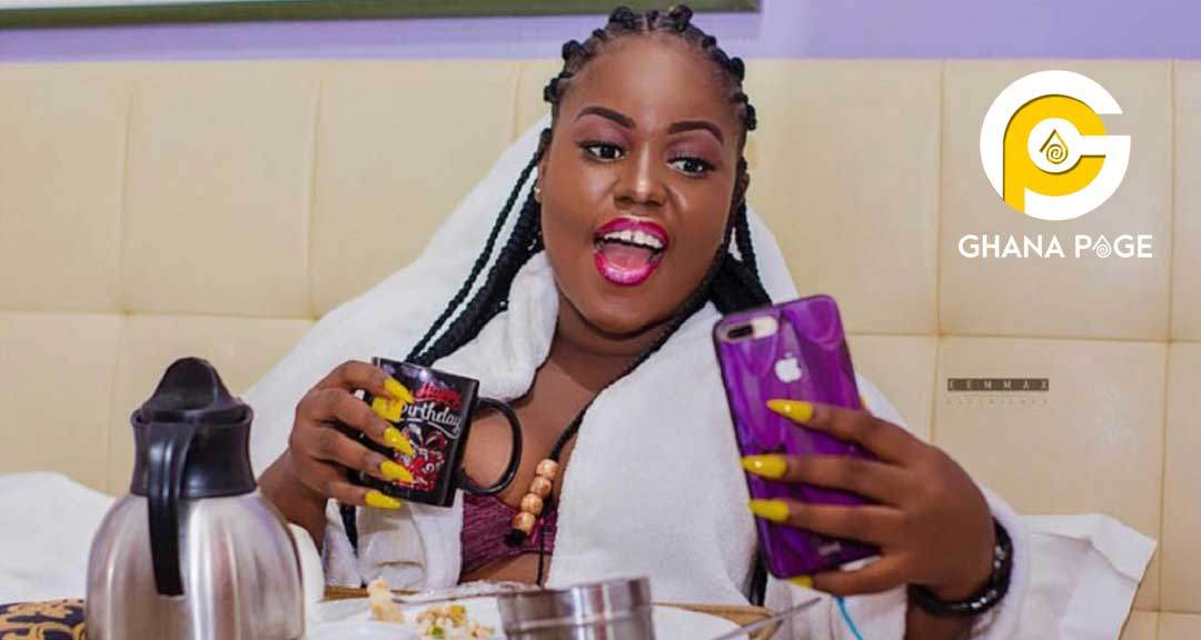 Queen Peezy goes raw on social media to tease Patapaa