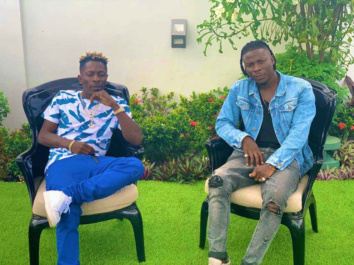 Shatta Wale called on a big man to help him unite with Stonebwoy