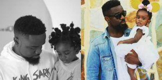 Titi warns dad Sarkodie to stop calling her baby