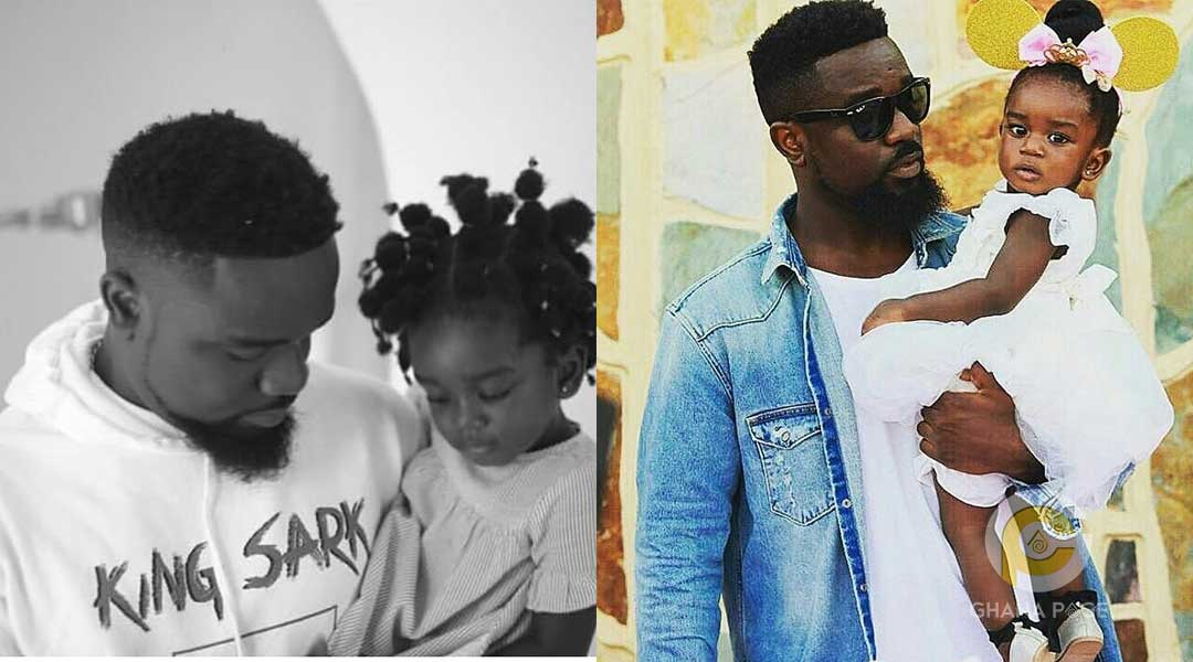 Sarkodie and Titi - Titi warns dad Sarkodie to stop calling her a baby