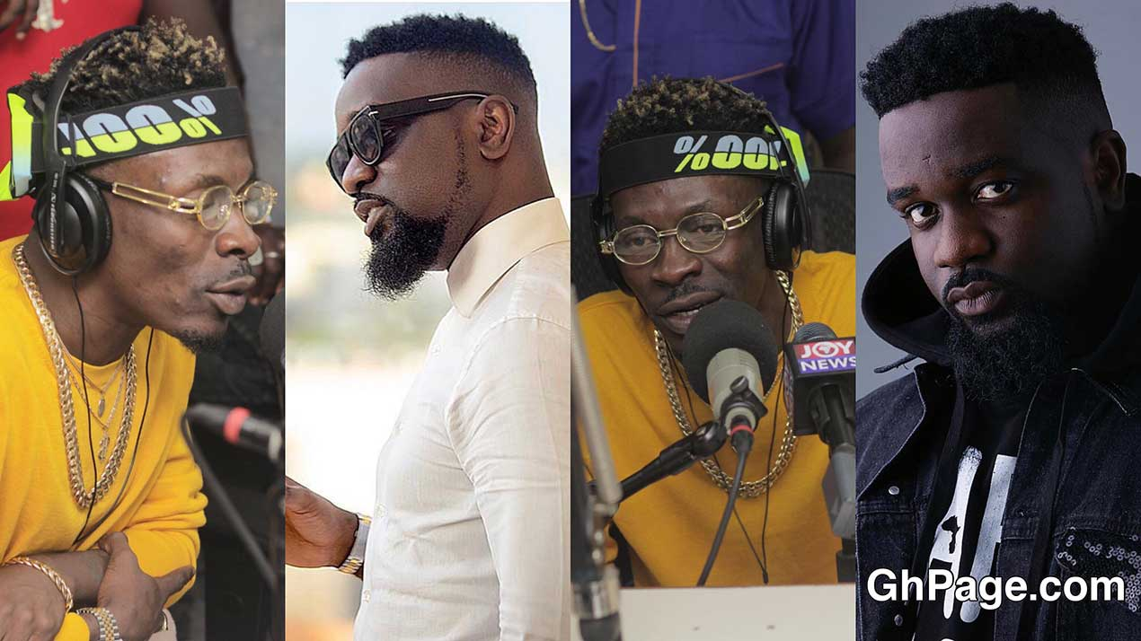 Shatta Wale jabs Sarkodie poor - Hypocrite Sarkodie betrayed me in a Glo deal -Shatta Wale