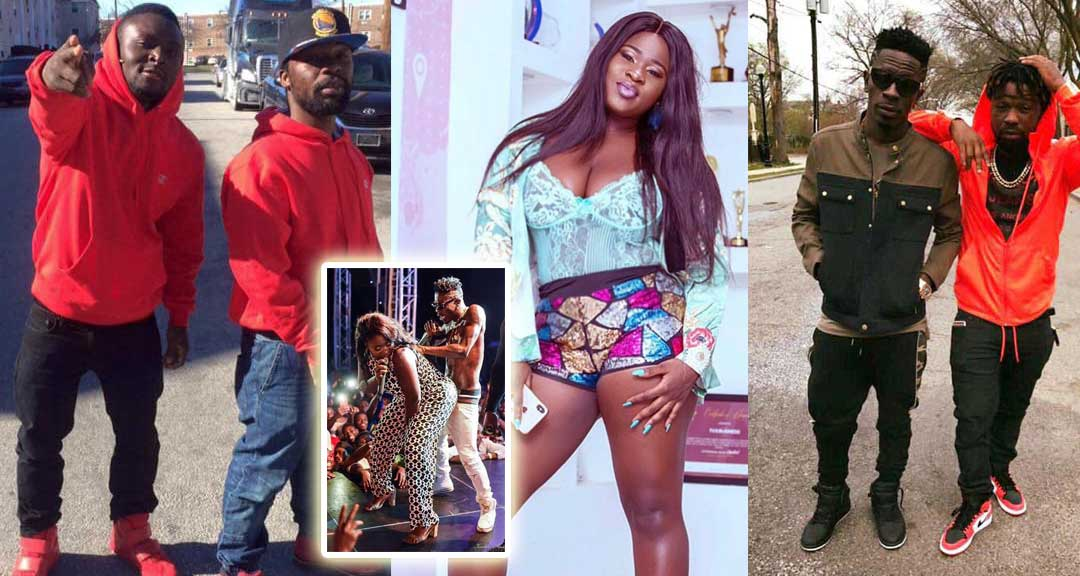 Sista Afia Shatta Wale Junior US Oboy Murphy - Junior US paid Sista Afia's ticket to Ghana for Shatta Wale to bang her