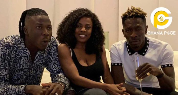 Peace Maker, Nana Aba Anamoah narrates how she brought peace between Shatta Wale and Stonebwoy