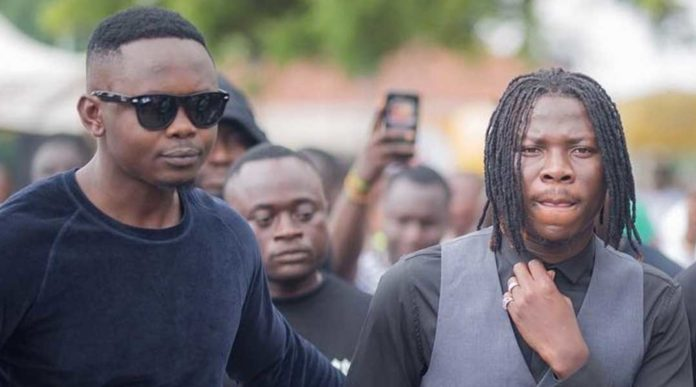 Stonebwoy and Manager