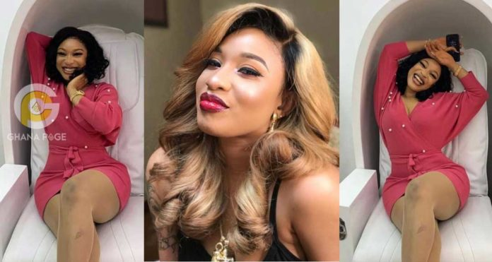 Porta Potties: Tonto Dikeh names top Nigerian actresses who go to Dubai to be sh1t & pissed on