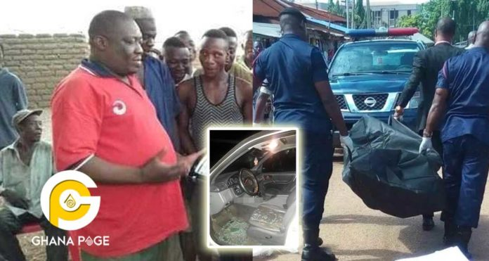 NDC Upper West chairman shot dead-Sad details of how he was killed revealed by police [+Photos]